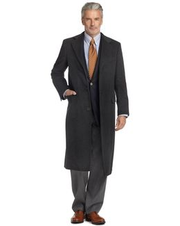 Golden Fleece® Brooksstorm® Westbury Cashmere Overcoat