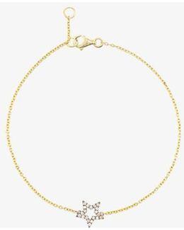 Diamond Star Charm Bracelet