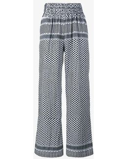 Keffiyeh Cotton Trousers