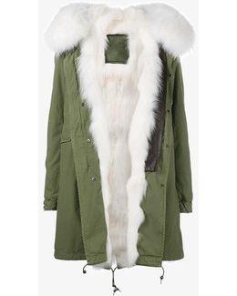 Fox And Raccoon Fur Lined Parka
