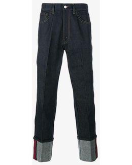 Web Detail Jeans