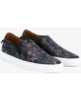 Baboon Print Sneakers