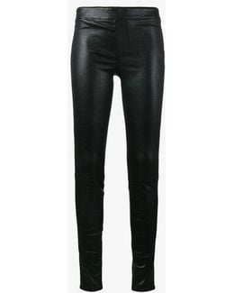 Skinny Leather Trousers