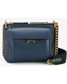 Pocket Leather Shoulder Bag
