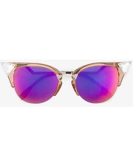 Iridia Cat-eye Sunglasses