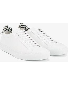 Checkered Heel Sneakers