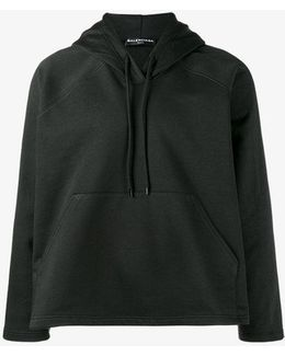 - A-lined Hooded Sweatshirt - Men - Cotton/viscose - L