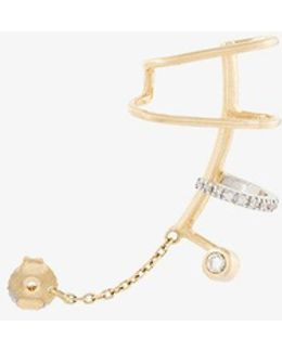 Ines Blanc Diamond Ear Cuff