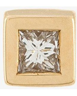 Odette Blanc Diamond Stud Earring