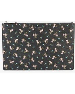 Iconic Floral Print Pouch