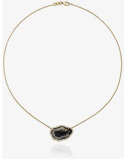 Geode Diamond Necklace