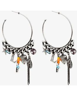 Ajani Hoop Earrings