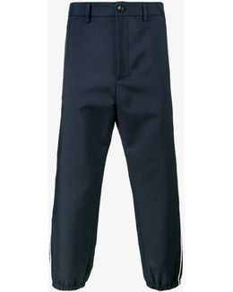 Cropped Vintage Trousers