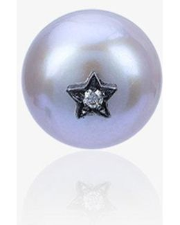 Superstellar Pearl Single Stud Earring