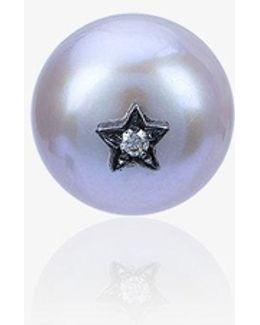 Superstellar Pearl Single Stud Earring