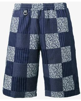 Patchwork Easy Shorts