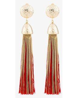 Big Tassel Earrings