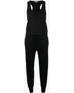 Sleeveless Knitted Jumpsuit
