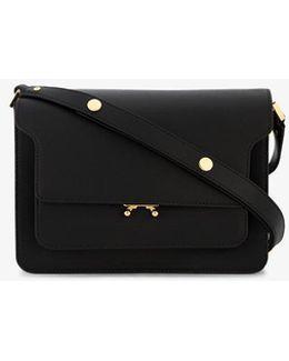Black Small Trunk Shoulder Bag