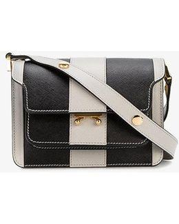 Striped Mini Trunk Stripe Shoulder Bag