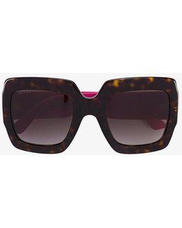 Oversized Tortoiseshell Sunglasses