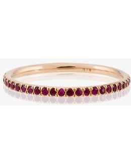 Thread Band Ring