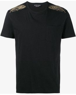 Feather Printed T-shirt