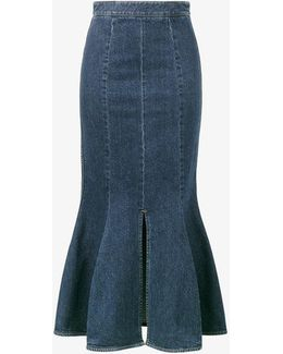 Ivy Denim Midi Skirt