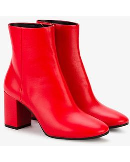 Red Ville Ankle Boots