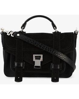 Medium Black Ps1+ Cross Body Bag
