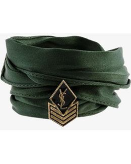 Monogram Army Charm Bracelet