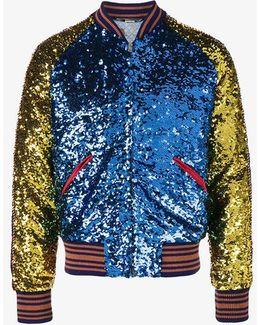 Loved Sequin Bomber Jacket