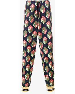 Gg Wallpaper Track Trousers