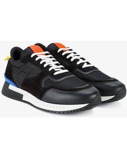 'runner' Panelled Sneakers