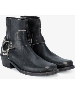 Santiago Distressed Boots