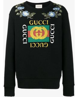 Loved Gg Floral Sweatshirt