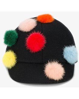 Pom Pom Riding Hat