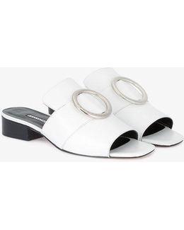 White Harput Sandals