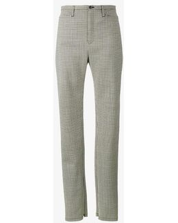 Cosmetic Check Trousers