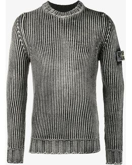 Weathered Ribbed Jumper