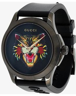 G-timeless Angry Cat Watch
