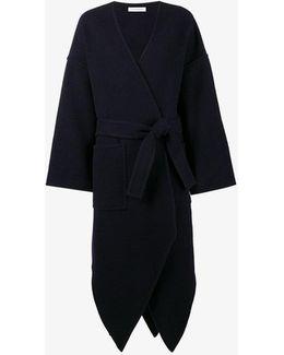 Belted Asymmetric Coat