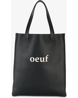 Oeuf Leather Shopping Tote
