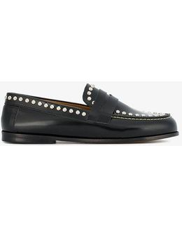 Fenzay Studded Penny Loafers