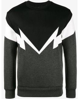 Bolt To Bolt Embroidered Sweatshirt