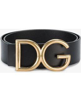 Gold Initials Belt