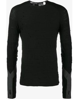 Distressed Compression Top