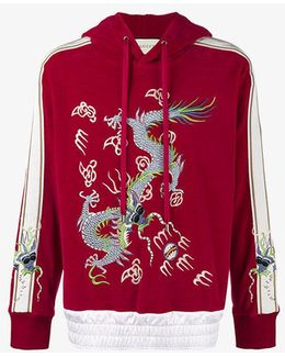 Dragon Embroidered Hoodie