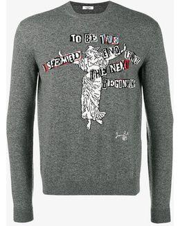 X Jamie Reid Knitted Jumper