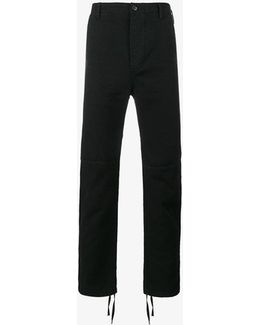 Utility Slim-fit Trousers